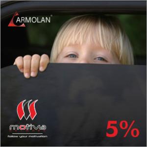 FOLIE AUTO TRANSPARENTA 5%